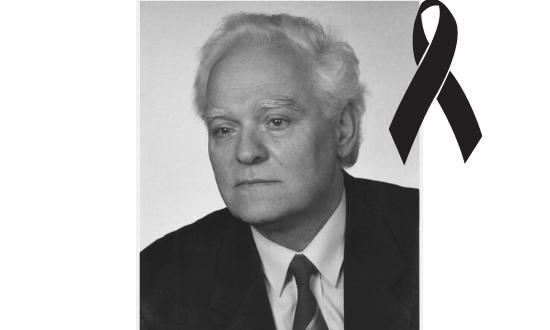 Professor Teodor Szymanowski died